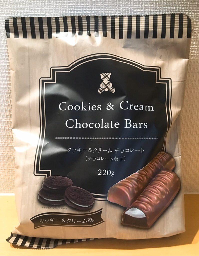 クッキー&クリームチョコレート外装