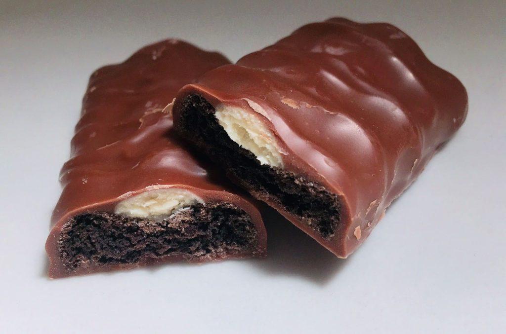 クッキー&クリームチョコレート断面