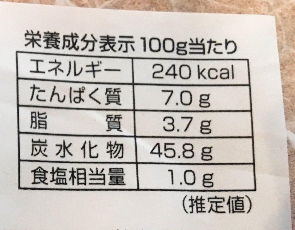 酵母食パンカロリー