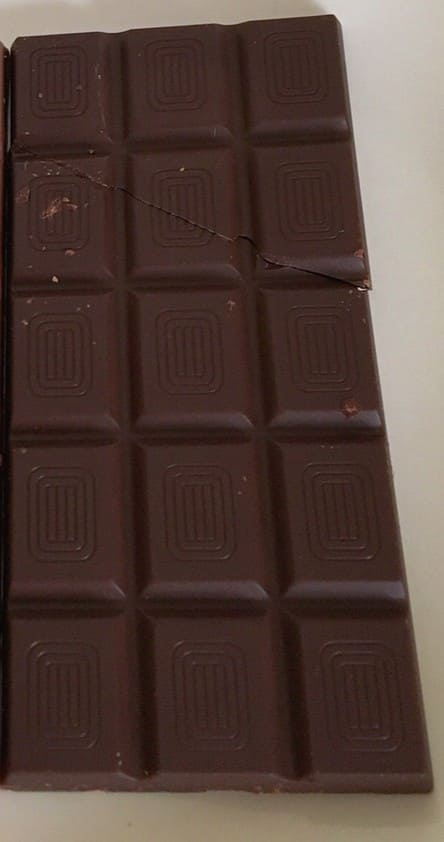 ビターチョコ全体中身