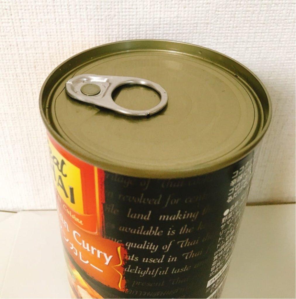 マッサマンカレー缶開け口