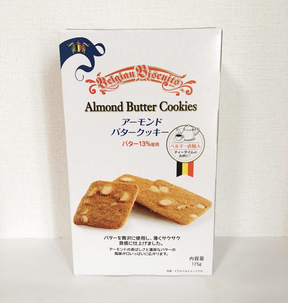 アーモンドバタークッキー外装