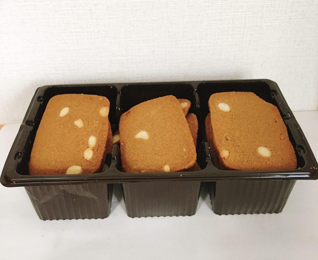 アーモンドバタークッキー中身