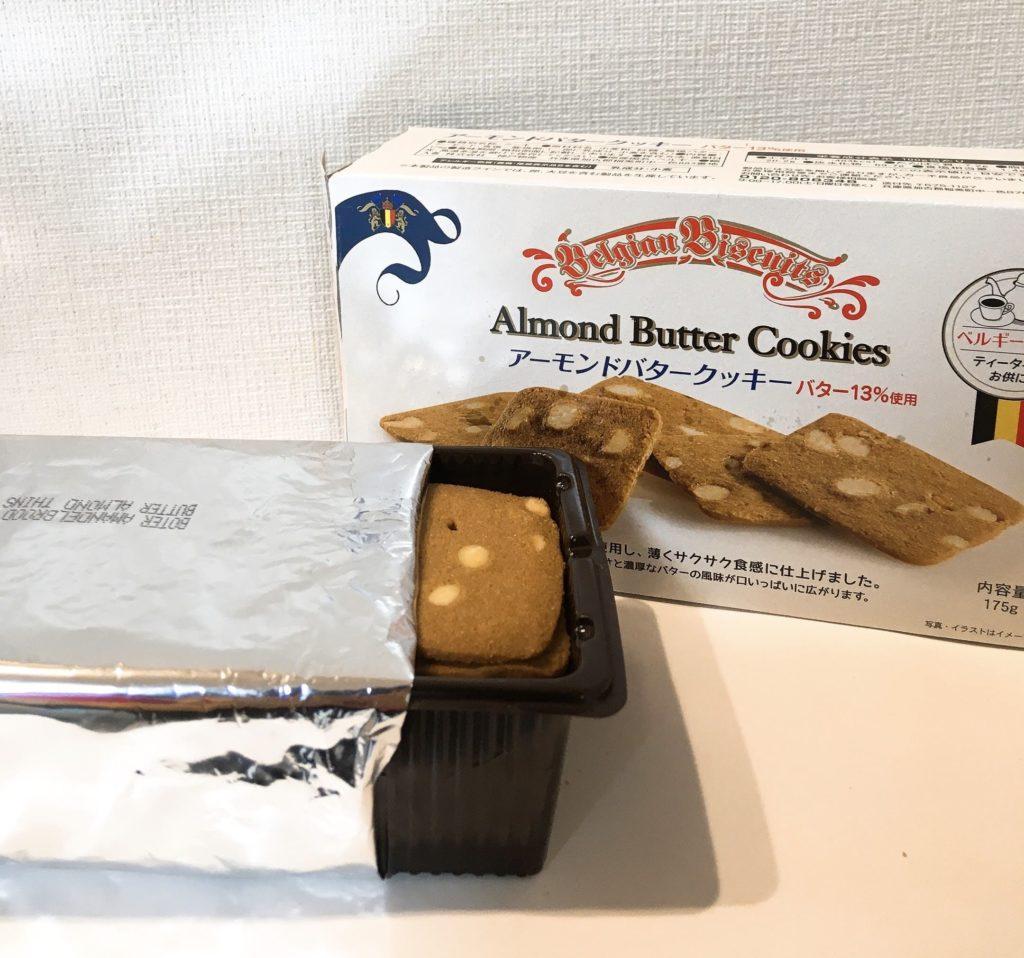 アーモンドバタークッキー袋