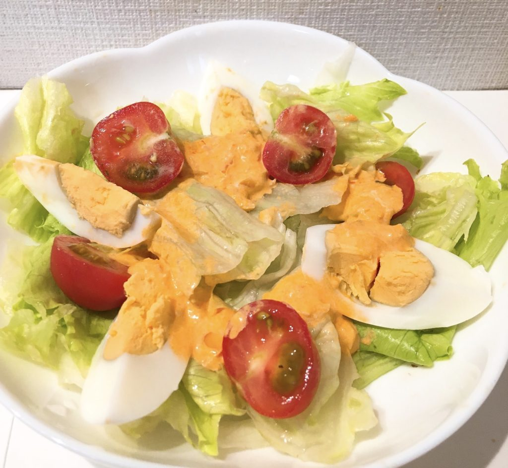洋葱醤サラダ