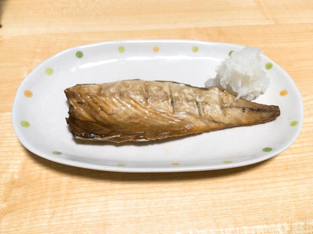 塩サバフィーレ食べる