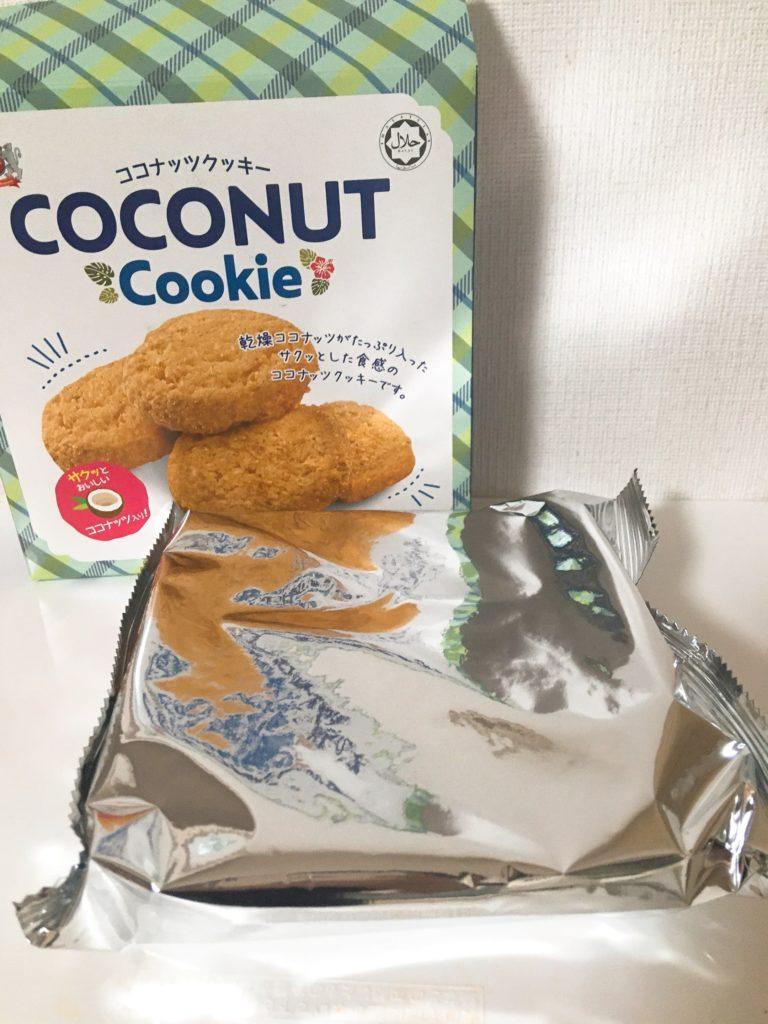ココナッツクッキー袋