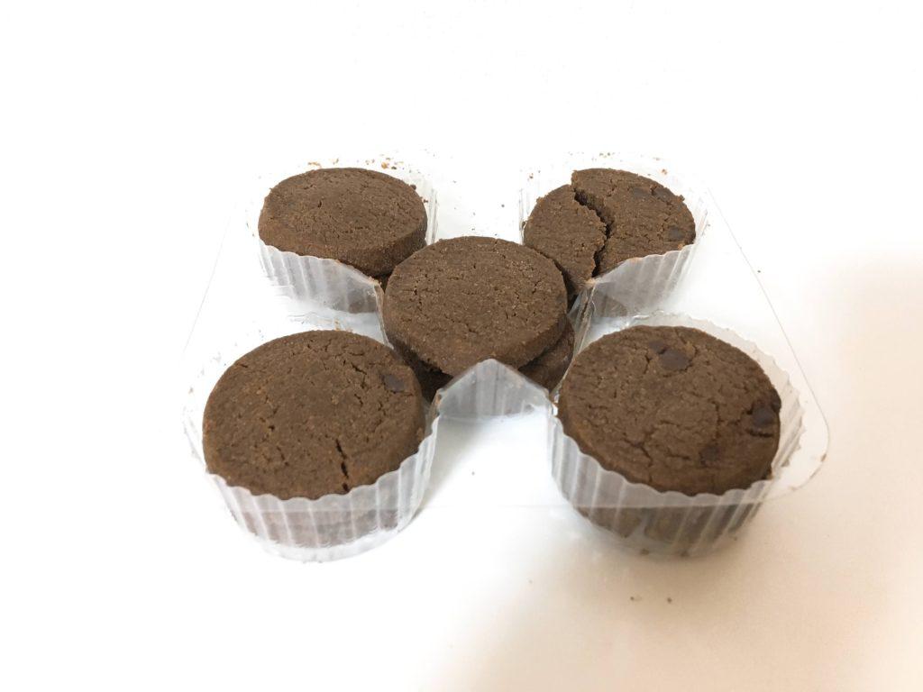 チョコクッキー中身