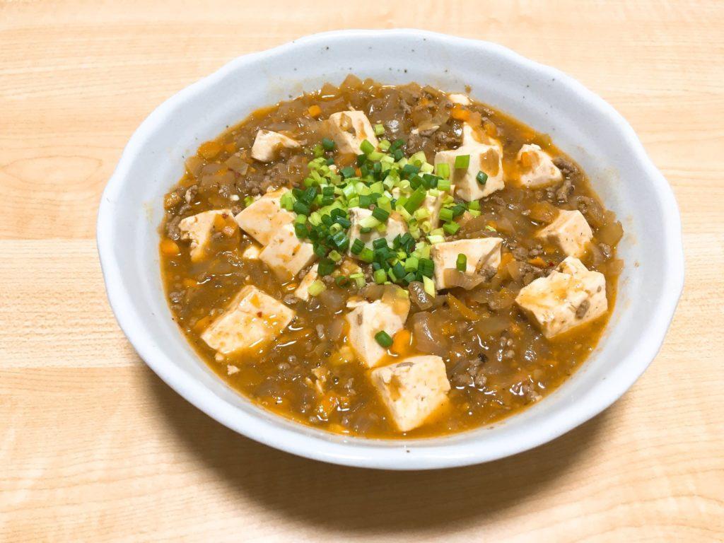麻蝦醤で麻婆豆腐