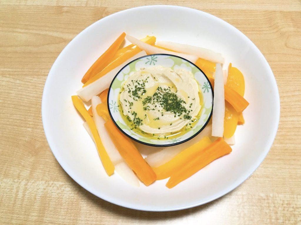 フムス野菜