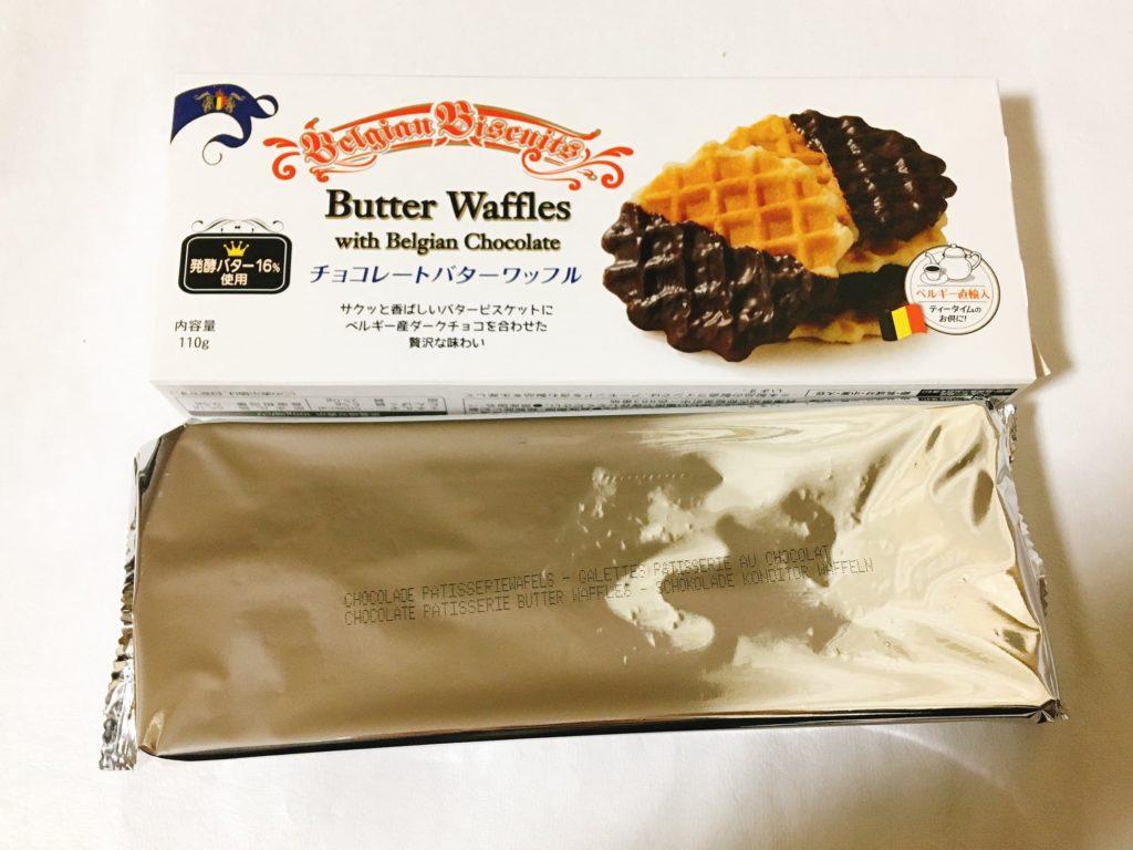 チョコレートバターワッフル袋