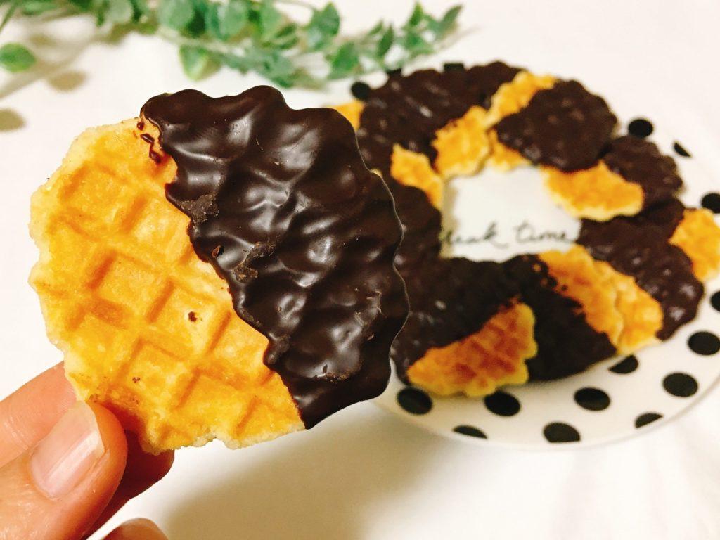 チョコレートバターワッフル1枚