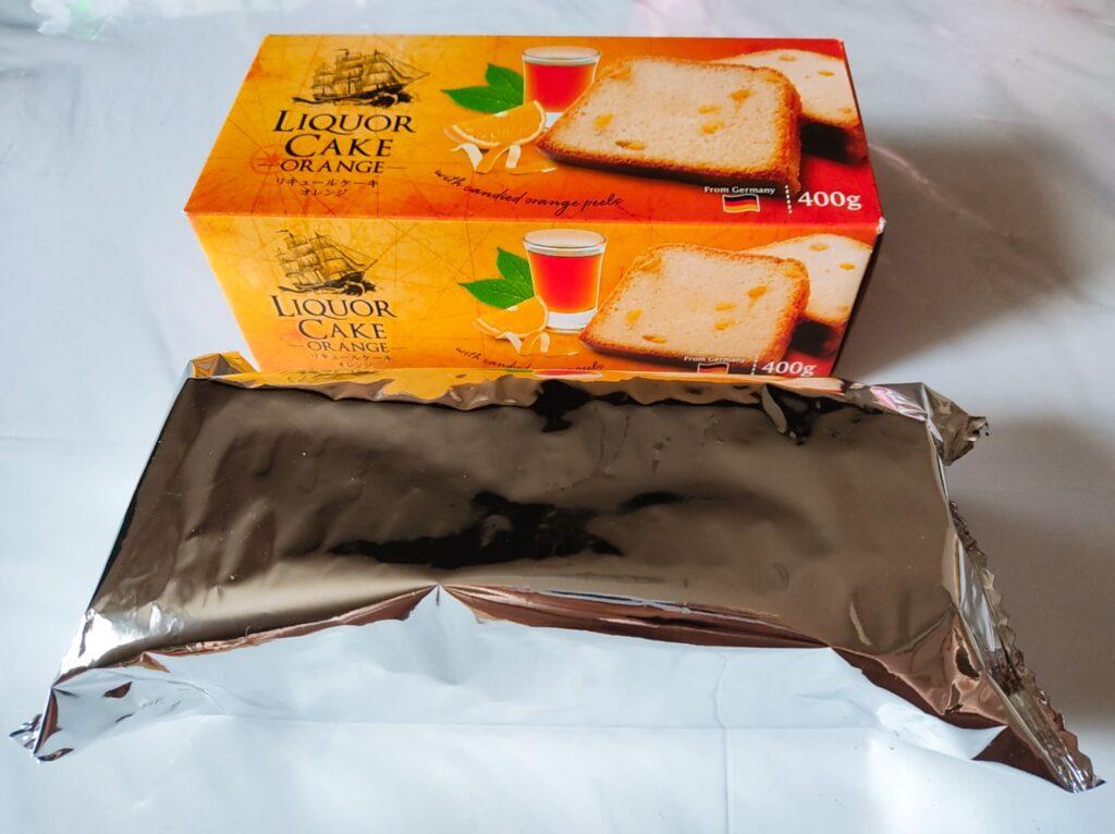 リキュールケーキオレンジ袋