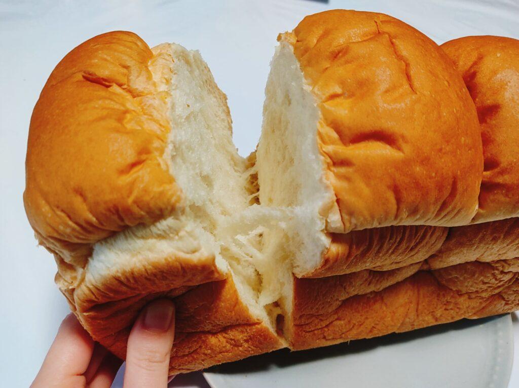 イギリス食パン裂く