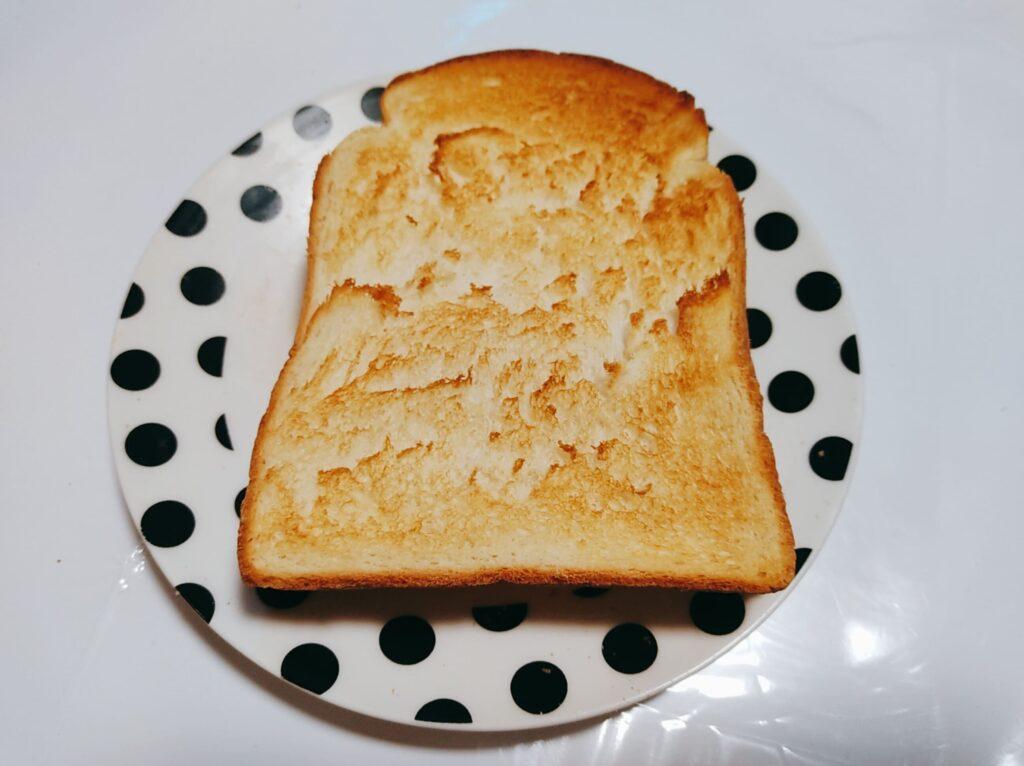 イギリス食パン焼く
