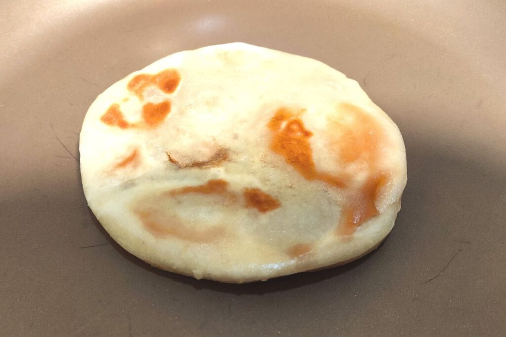 ホットクフライパン焼き1
