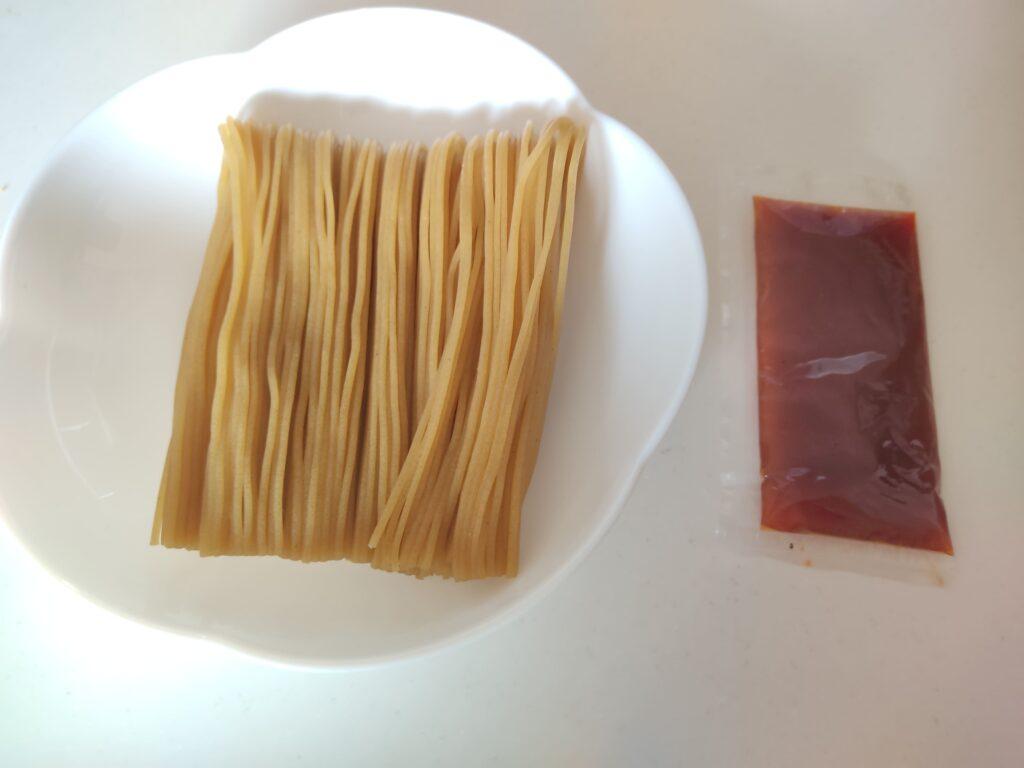 ビビン麺中身